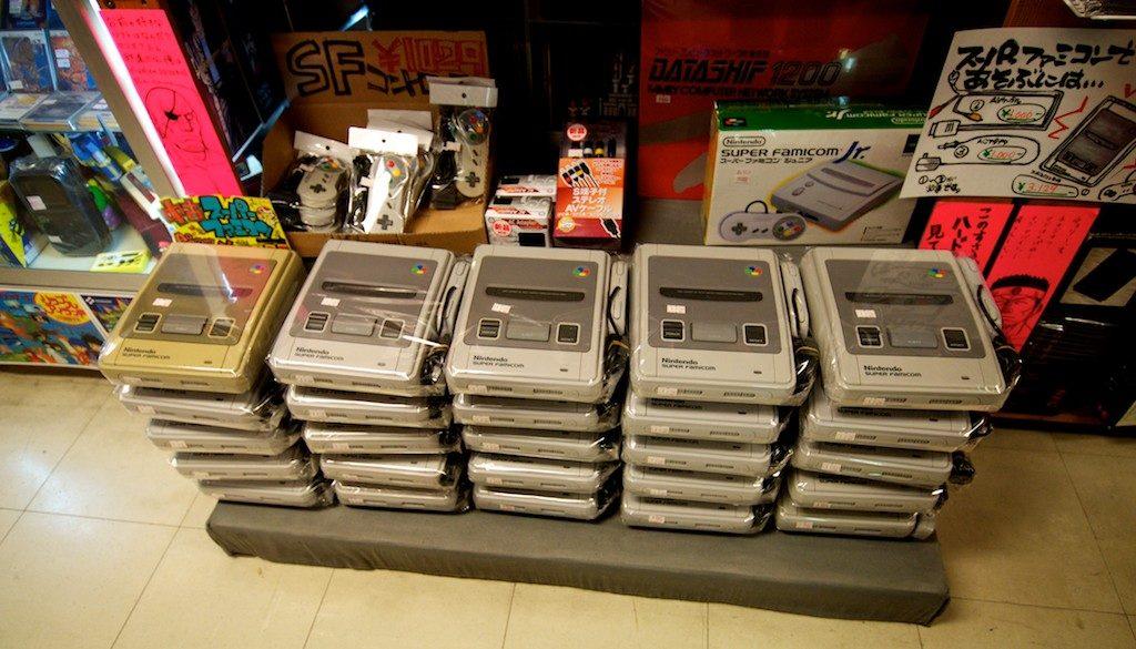 console nintendo in vendita al Super Potato