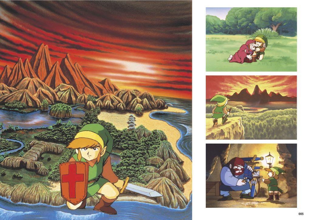 esempio immagine zelda artbook