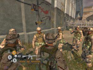 full spectrum warrior squadre criunite