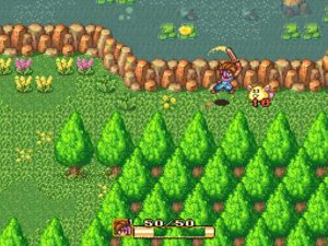 secret of mana combattimento