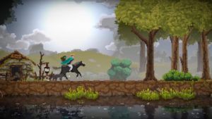 Kingdom: New Lands pixel art