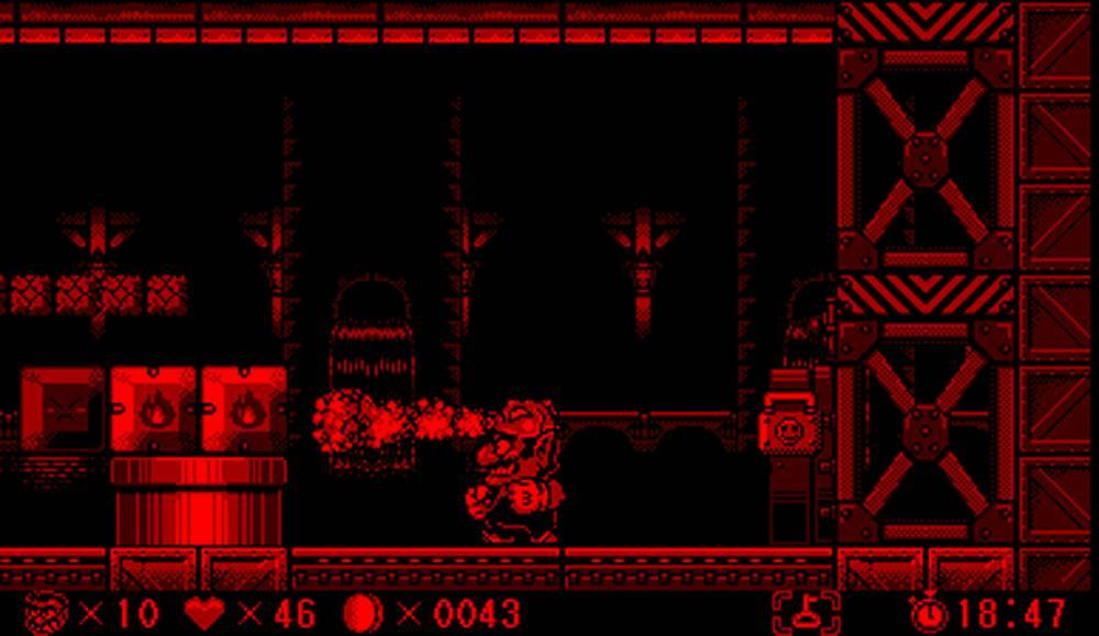 virtual boy rosso e nero