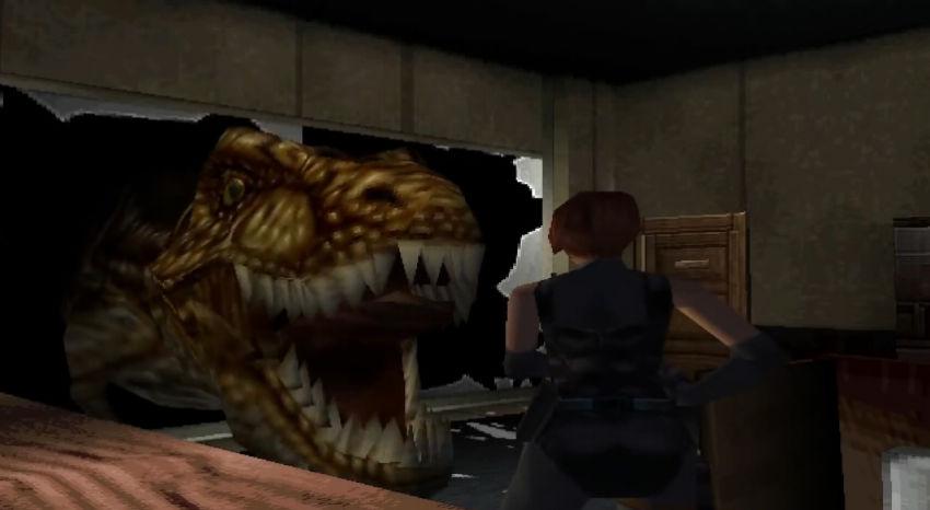 Incontro con il T-Rex in Dino Crisis