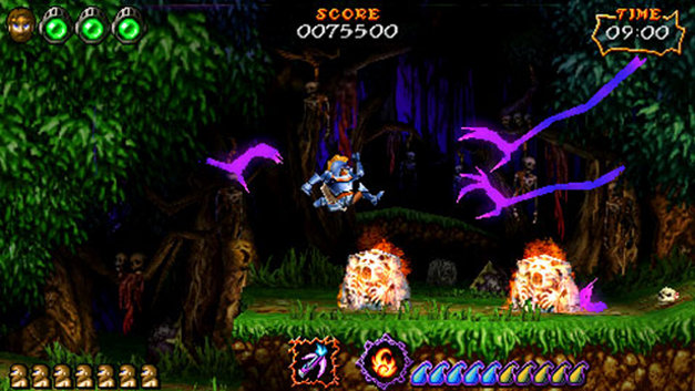 ultimate ghost and goblin psp