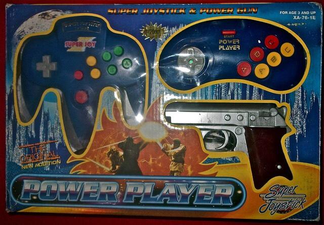 SuperJoyBlue3 console