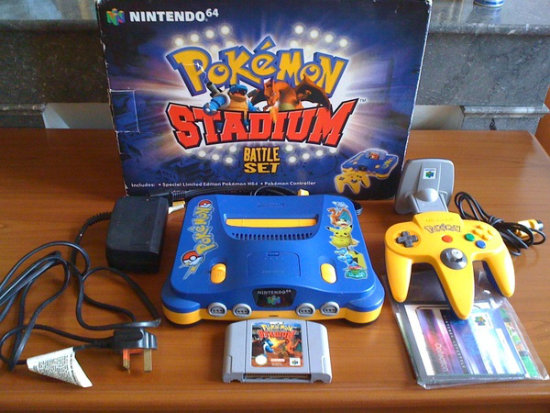 N64 pokemon stadium