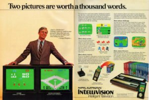 pubblicità intellivision