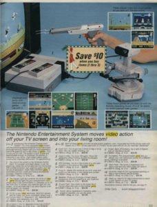pubblicità nes 1986