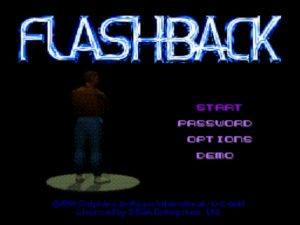 flashback schermata password