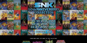 snk 40th anniversary per switch