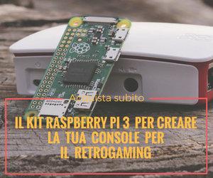 kit montaggio console retrogaming