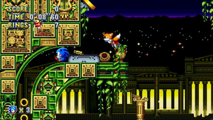 Sonic Mania Plus su Switch